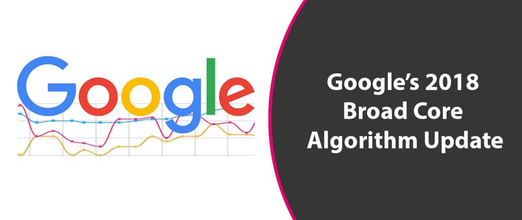 Google 2018 Broad Core Algorithm Update