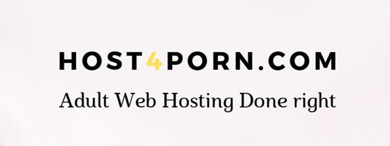 Adult Web Hosting Host4Porn