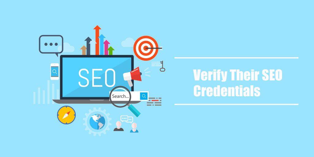 SEO Provider Credentials
