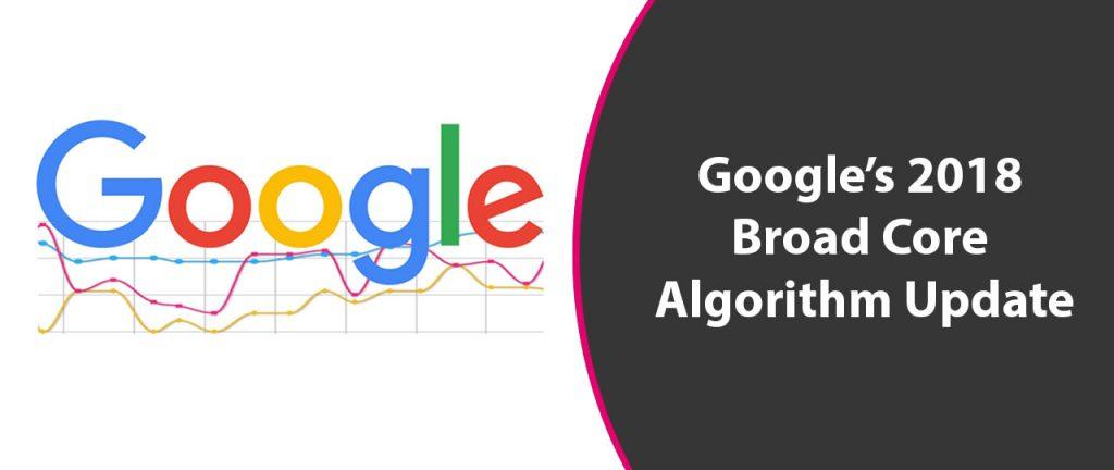 Google 2018 Broad Core Algorithm Update